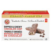 Granola Bar, Dipped Chocolate Chip Club Pack