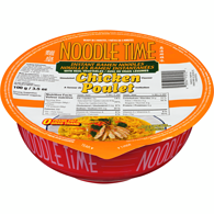 Instant Noodle Bowl, Chicken