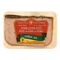 Glazed Pork & Chicken Liver Pâté, Garlic