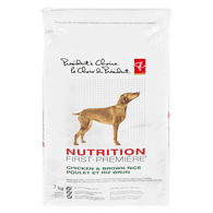 Nutrition First Adult Dog Food, Chicken & Brown Rice