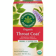 Organic Throat Coat Tea