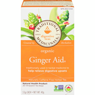 Organic Ginger Aid Herbal Tea