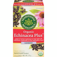 Organic Echinacea Plus Elderberry Herbal Tea