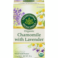 Organic Chamomile Herbal Tea with Lavender