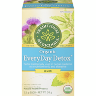 Organic EveryDay Detox Lemon Tea