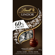 Lindor 60% Cacao Dark Chocolate Bag