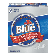 Labatt Blue De-Alcoholized Pilsner