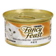 Fancy Feast Pate Tender Liver & Chicken Feast Cat Food
