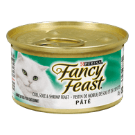Fancy Feast Pate Cod, Sole & Shrimp Feast Cat Food