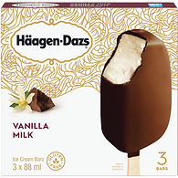 Ice Cream Bars, Vanilla Milk