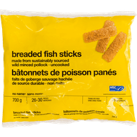 Wild Pollock Fish Sticks