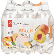 Peach Mist Naturally Fruit-Flavoured Water Beverage (Case)