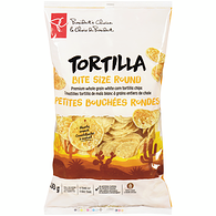 Tortilla Bite Size Round Premium White Corn Tortilla Chips
