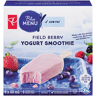 Blue Menu Yogurt Smoothie Bars, Field Berry