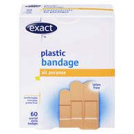 Latex Free Plastic Bandages