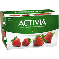 Strawberry 2.9% M.F. Probiotic Yogurt,12x100g
