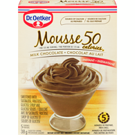 Chocolate Mousse, 50 Calories