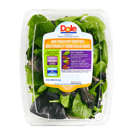 Baby Spinach With Tender Reds