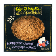 Bumbleberry Crumble Pie