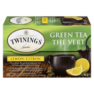 Green Tea & Lemon