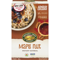 Organic Hot Oatmeal, Maple Nut