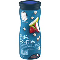 PUFFS, Strawberry Apple, Baby Snacks