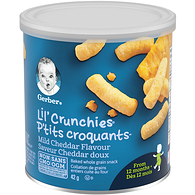 LIL' CRUNCHIES, Mild Cheddar, Toddler Snacks