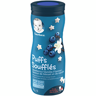 Graduates Puffs, Blueberry Vanilla