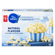 Blue Menu Popcorn, Microwave Natural