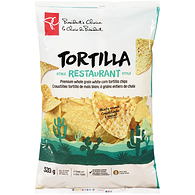 White Corn Tortilla Chips, Restaurant Cut