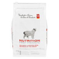 Nutrition First Adult Dry Cat Food with Salmon & Brown Rice