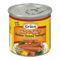 Chicken Vienna Sausages In Chicken Broth, Hot & Spicy