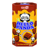 Hello Panda Cookies, Double Chocolate