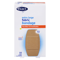 Flexible Fabric Bandages, Extra Large