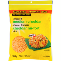 Shredded Cheese, Medium Cheddar