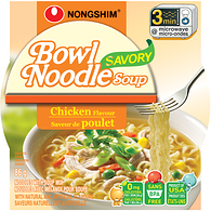 Bowl Noodles, Savory Chicken