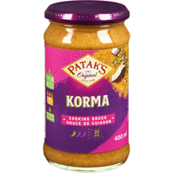 Cooking Sauce, Korma