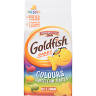Goldfish Crackers, Colours