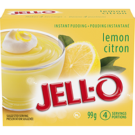 Instant Pudding, Lemon