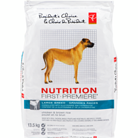 Nutrition First Large Breed Dog Food, Chicken & Brown Rice