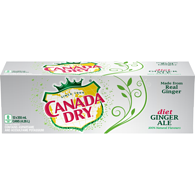 Diet Ginger Ale (Case)