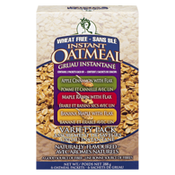 Wheat-Free Instant Oatmeal, Variety Pack