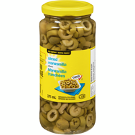 Manzanilla Olives, Sliced