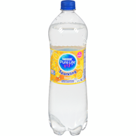 Pure Life Sparkling Natural Spring Water, Lemon