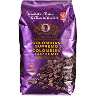 Colombian Supremo Coffee, Whole Bean