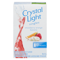 Crystal Light Singles, Strawberry Orange Banana