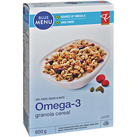 Blue Menu Granola Cereal, Fruit Seeds & Nuts Omega 3