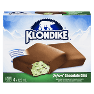 Klondike Mint Chocolate Chip Bars