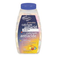 Calcium Antacid, Fruit