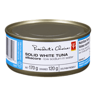 White Tuna, Solid In Water Low Sodium